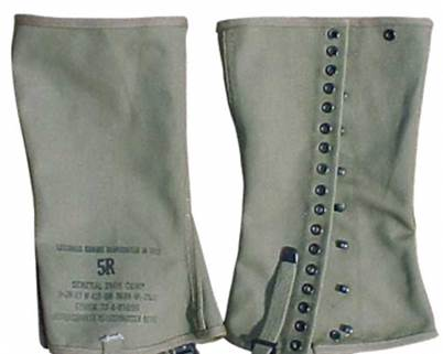 US Leggings, Dismounted, M1938